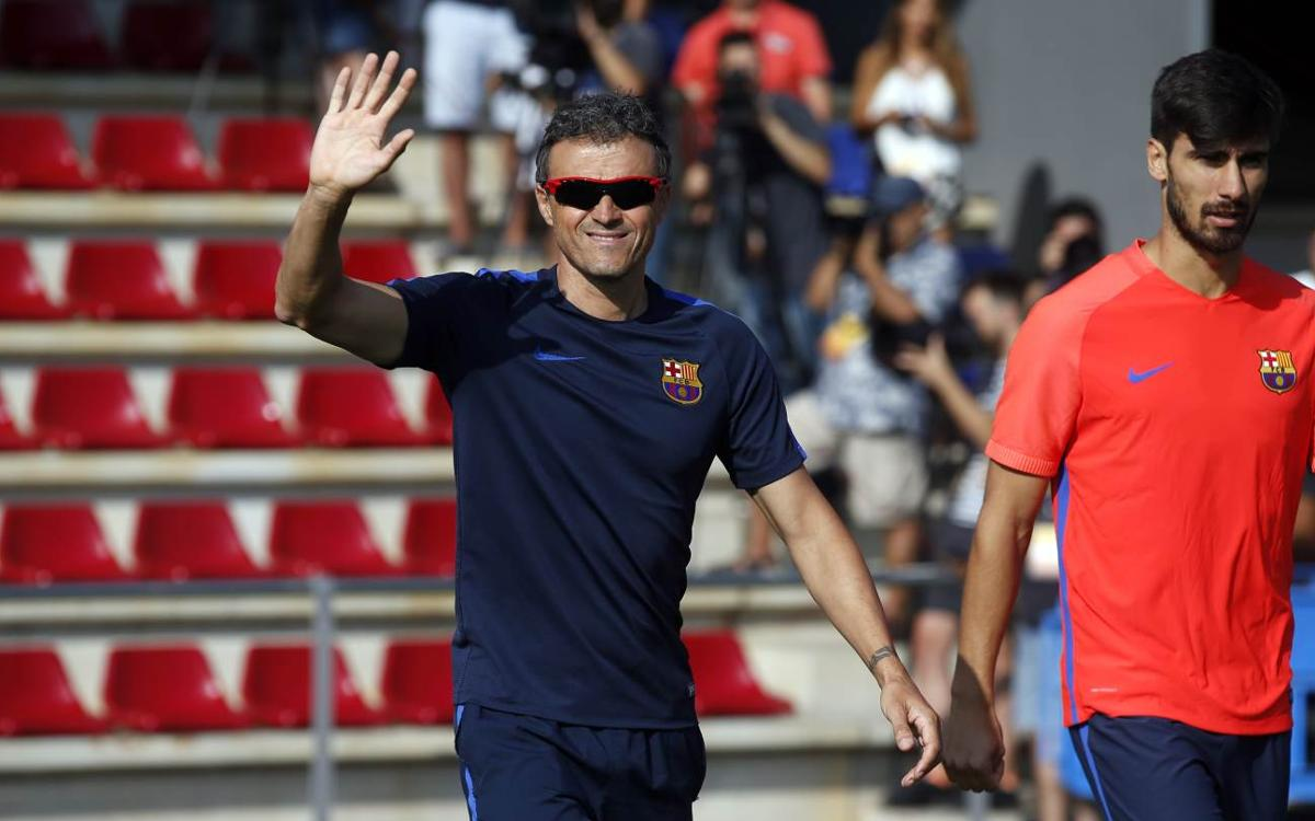 Luis Enrique motivated for third straight league title