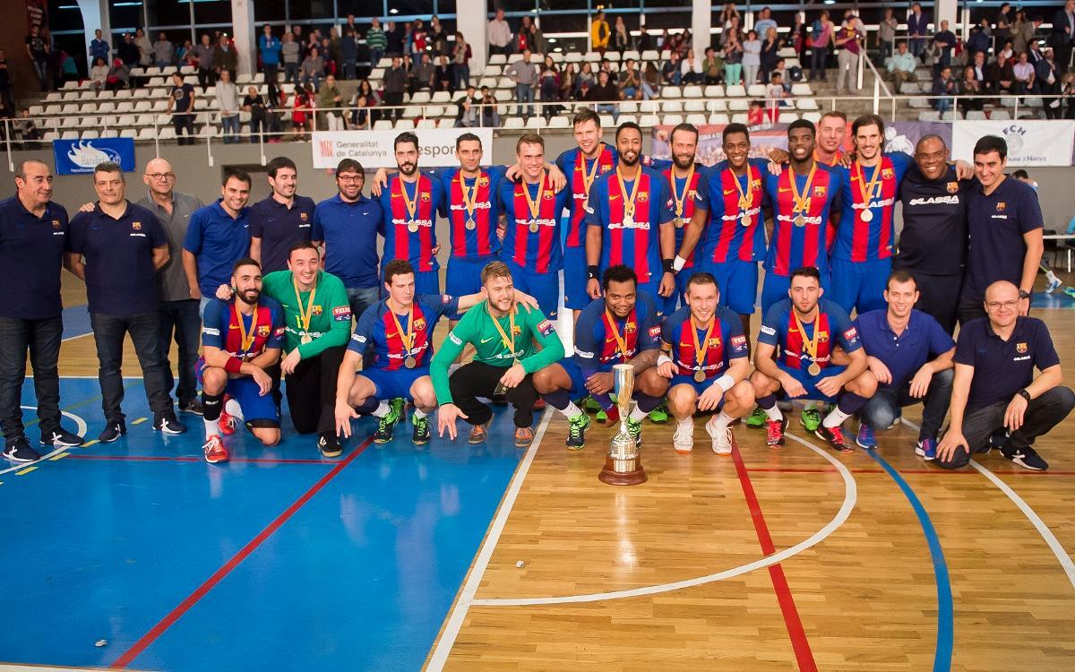 FC Barcelona Lassa - Fraikin BM Granollers: Catalan Champions! (30-25)
