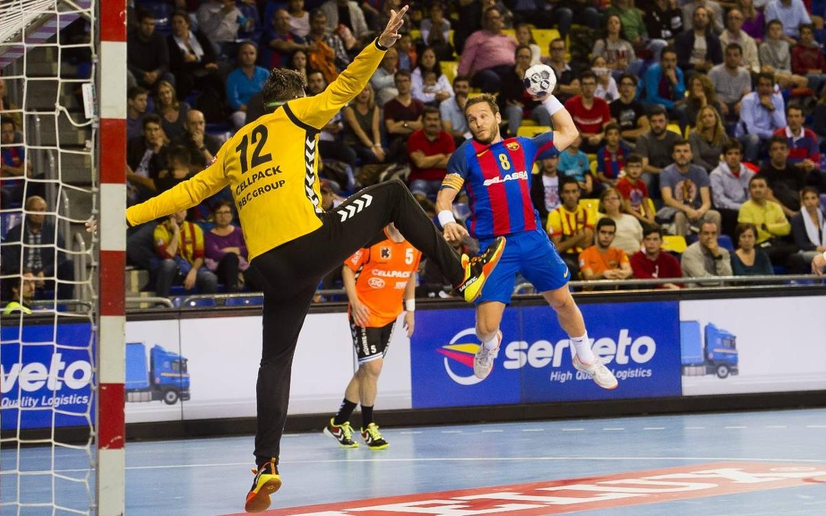 FC Barcelona Lassa v Kadetten Schaffhausen: Undefeated in Europe (38-25)