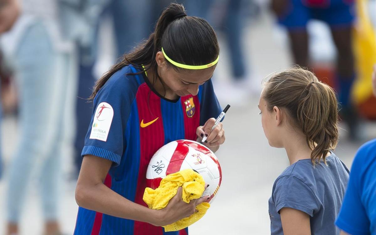 FC Barcelona Femenino - Zaragoza CFF (previa): Primera cita en el Mini