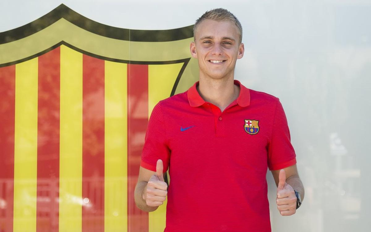 Cillessen, a goalkeeper with FC Barcelona DNA