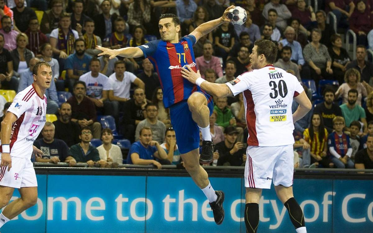 FC Barcelona Lassa - Telekom Veszprem: Victory against one of the favourites (26-23)