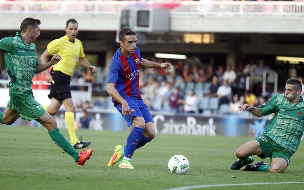 Barça B – CE Sabadell: Duel clàssic amb al·licients
