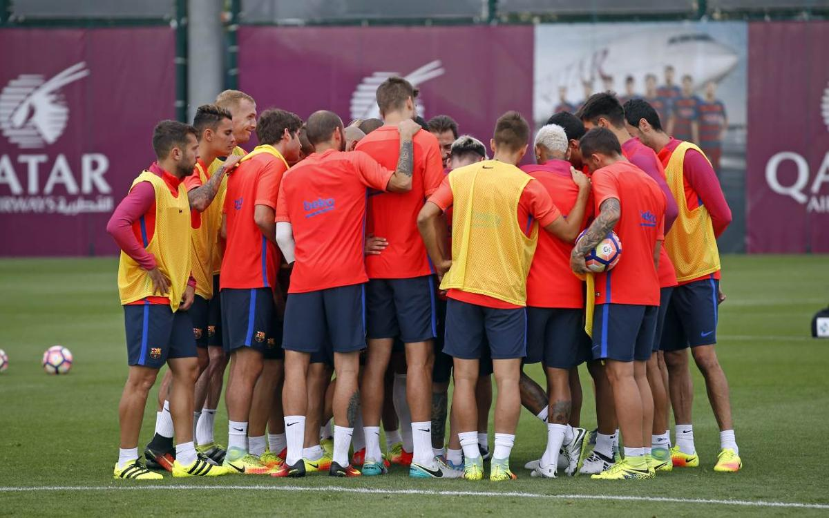 Squad of 18 announced for FC Barcelona v Atlético Madrid