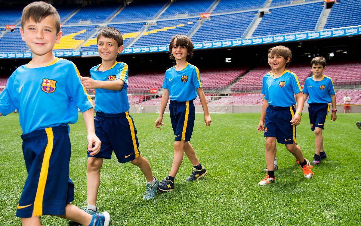 Presentació del curs FCBEscola Barcelona 2016-2017
