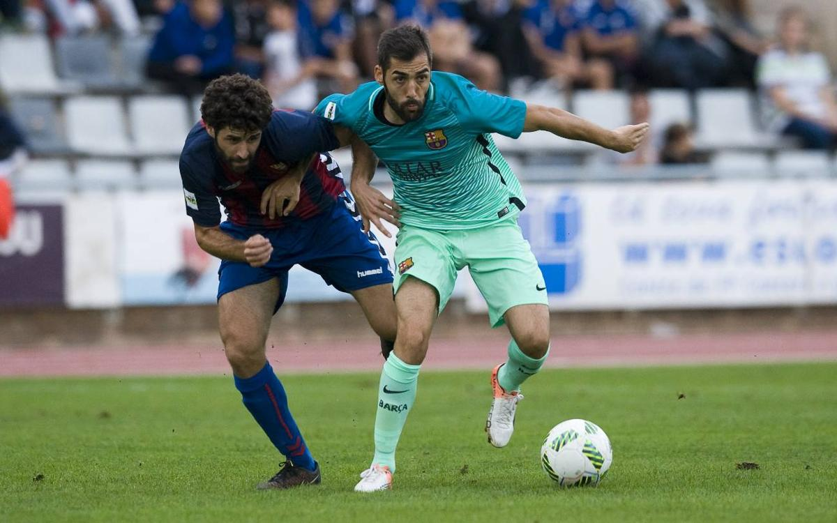 CF Gavà - FC Barcelona B: Castigo inmerecido para un Barça superior (1-0)
