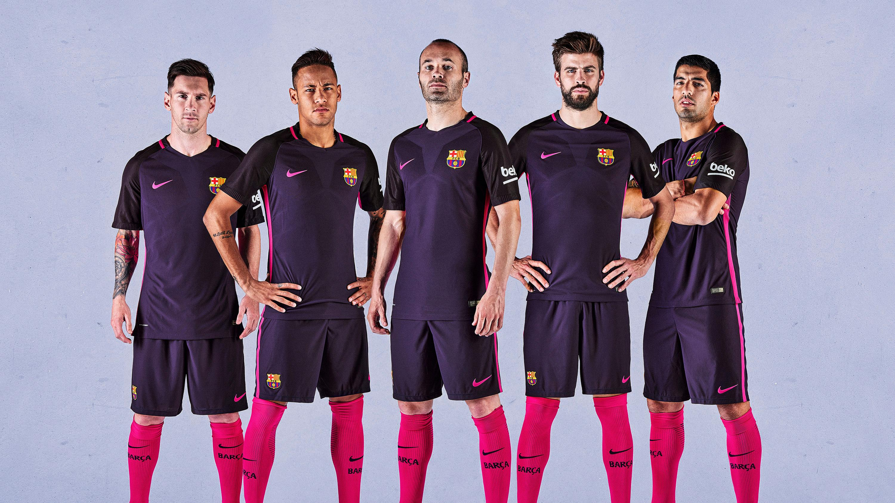 bd93c840c The FC Barcelona away kit for 2016 17 will be purple