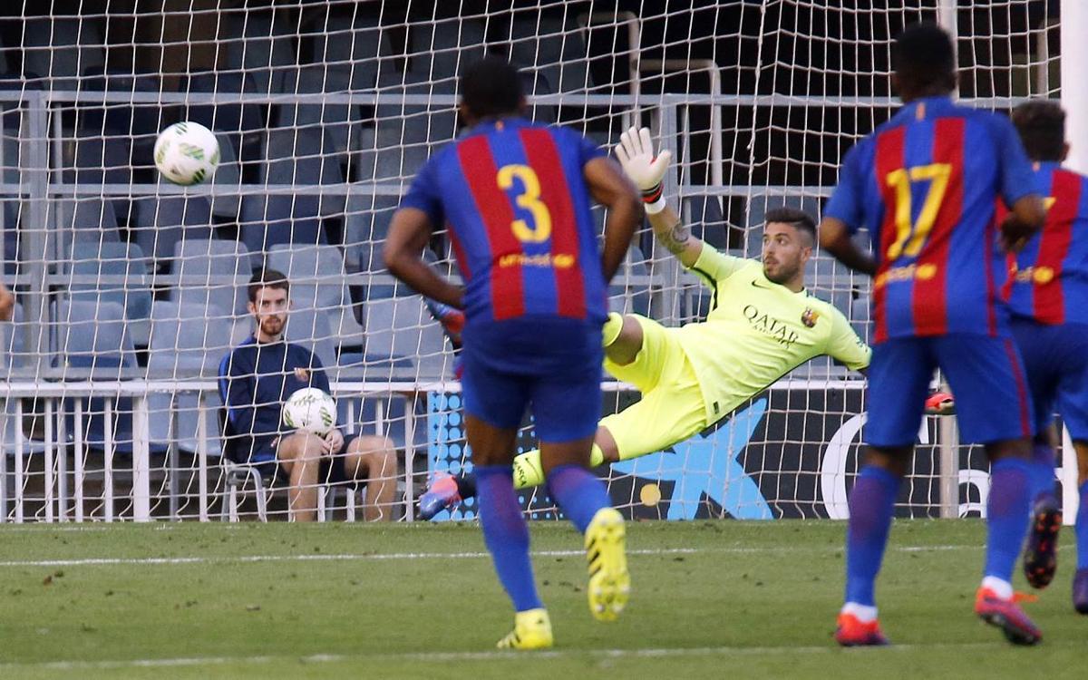 FC Barcelona B 0-1 Cornellà: Penalty woe