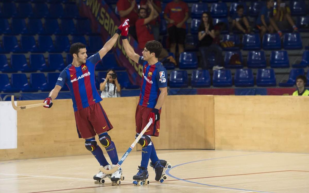FC Barcelona Lassa – ICG Software Lleida: El Palau da la bienvenida con goleada (7-0)