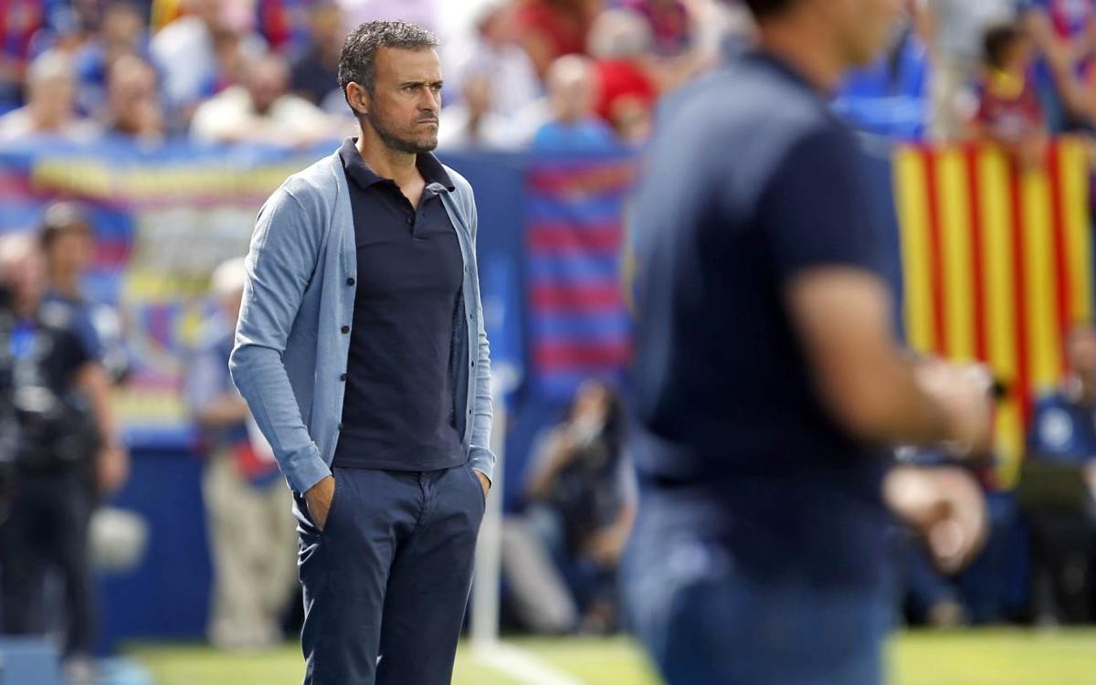 Luís Enrique: 'I like my players to take risks'