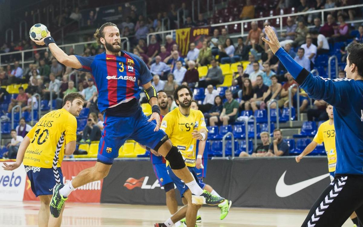 FC Barcelona Lassa v BM Villa de Aranda: Eight from eight (36-28)