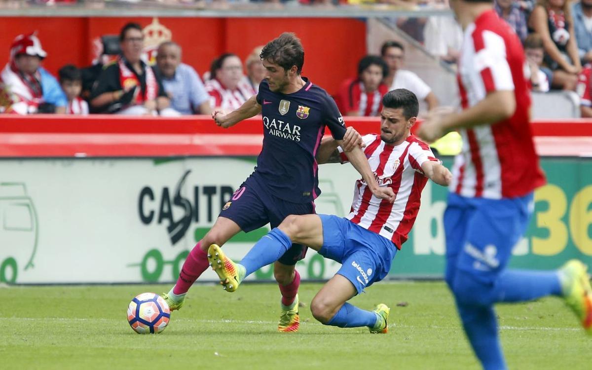 Sergi Roberto, el máximo asistente de la Liga