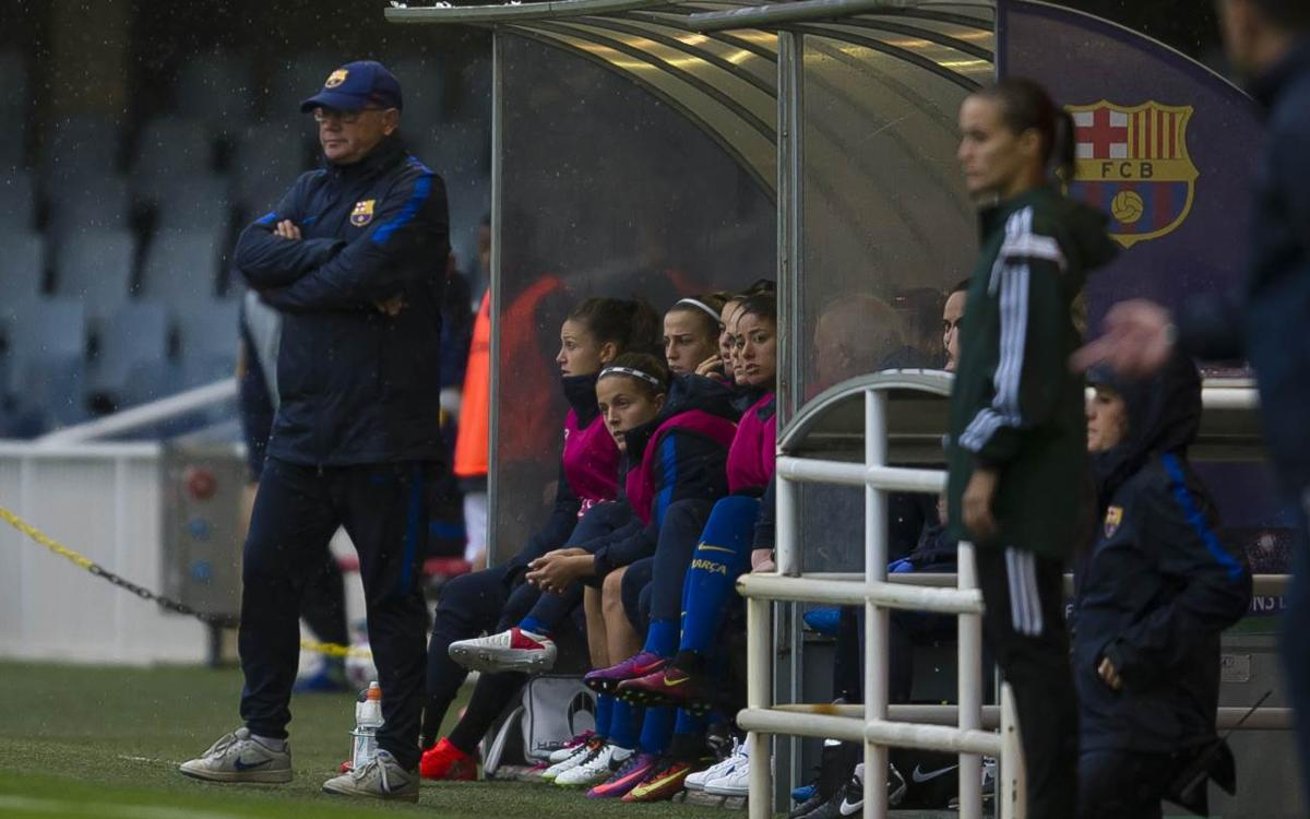 FC Barcelona Women's coach hails his teams confident performance