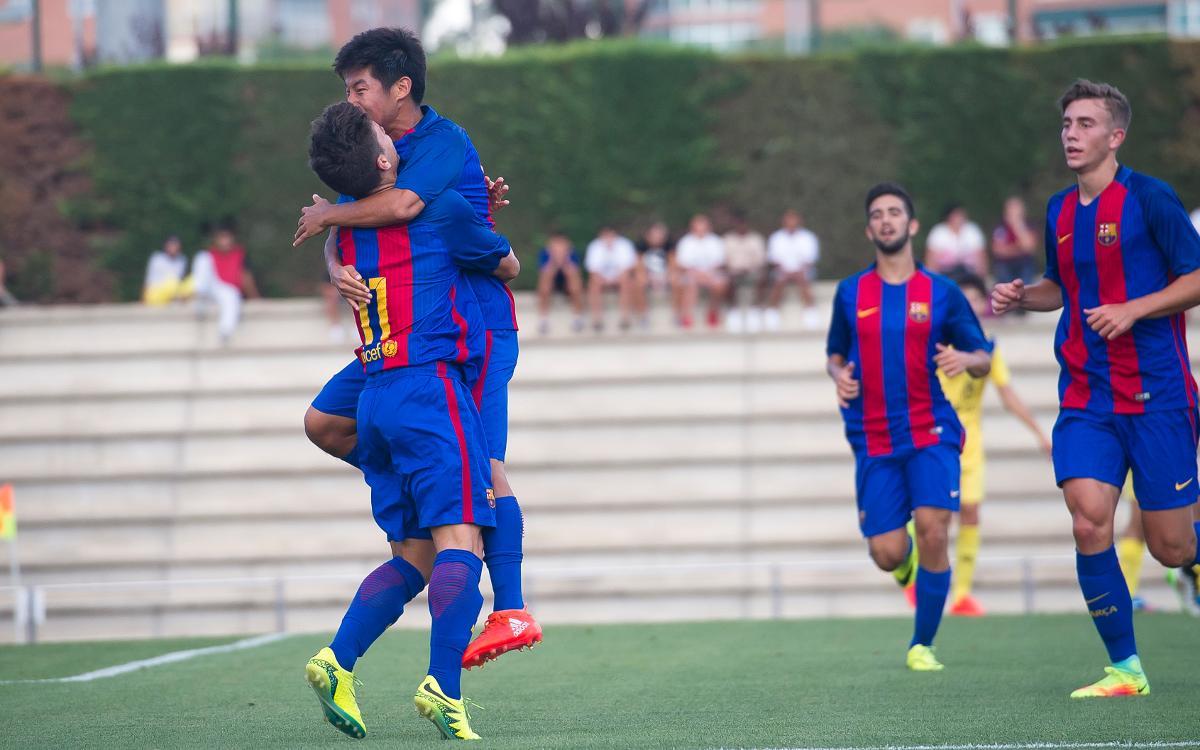Juvenil A - Manacor: Goles y esfuerzo que valen un liderato (4-0)