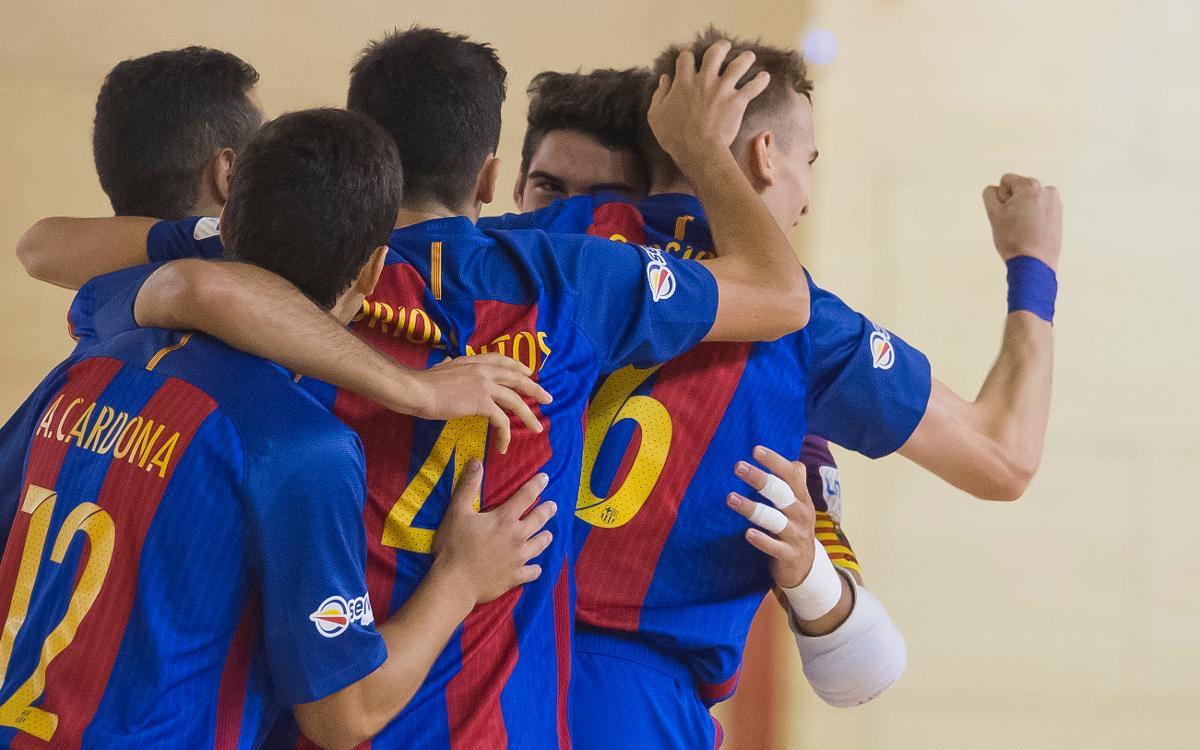 Cop d'autoritat del Barça B a Múrcia