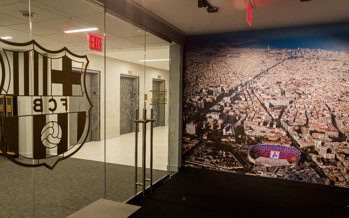FC Barcelona's office in the United States