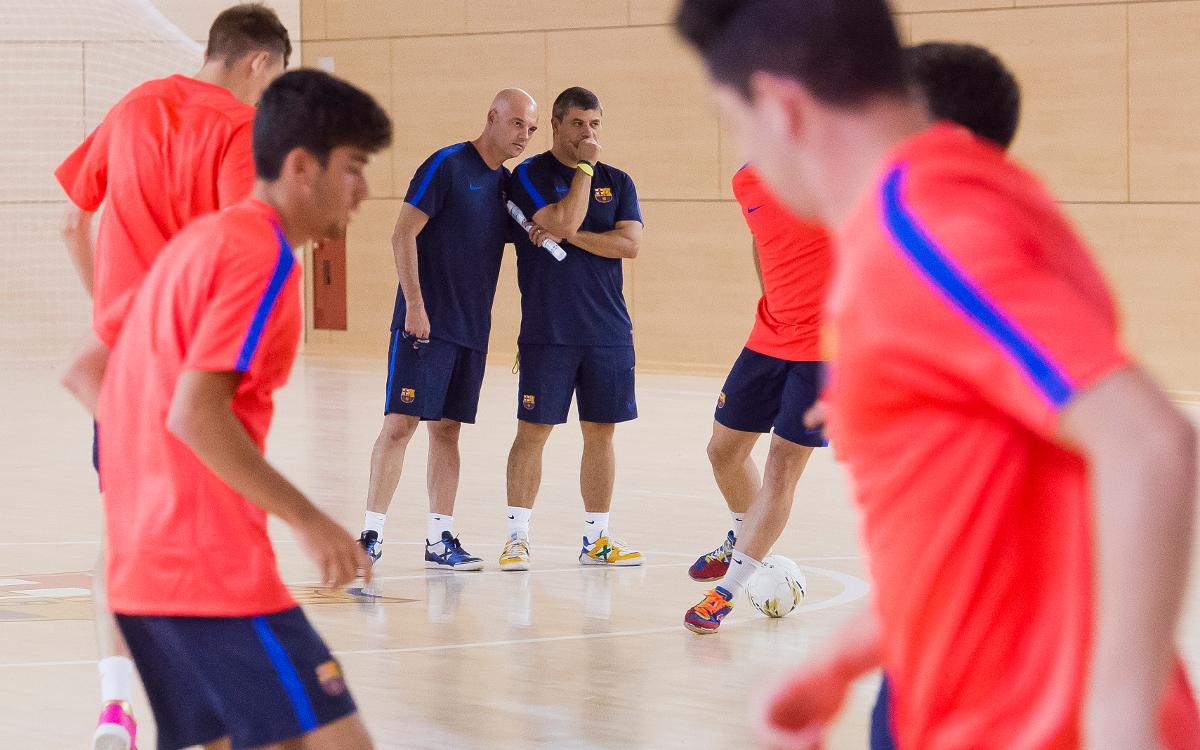 El filial, listo para empezar la liga de Segunda División