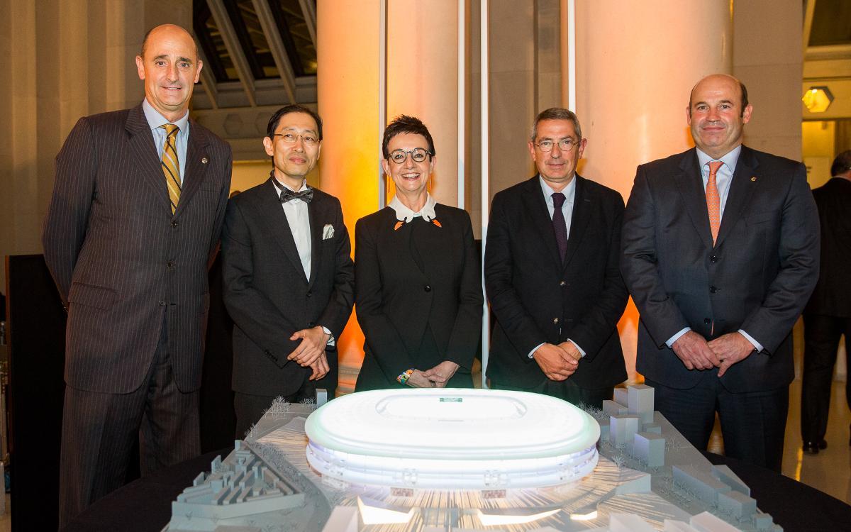 FCバルセロナと日建設計、スペインと日本の架け橋に