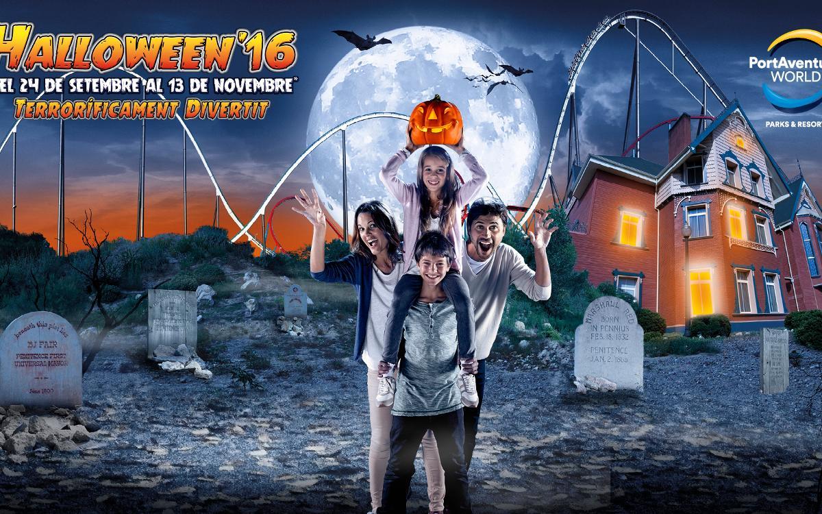 2x1 en Halloween'16 de PortAventura Park per als socis del FC Barcelona