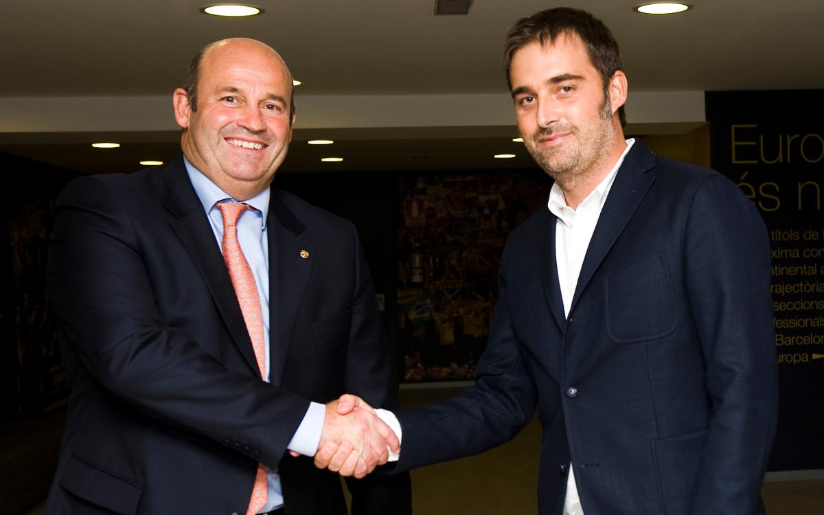 Franc Carbó, nuevo director de la FCBEscola