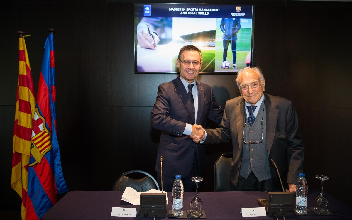 FCB Universitas and ISDE promote a master's degree in sports law