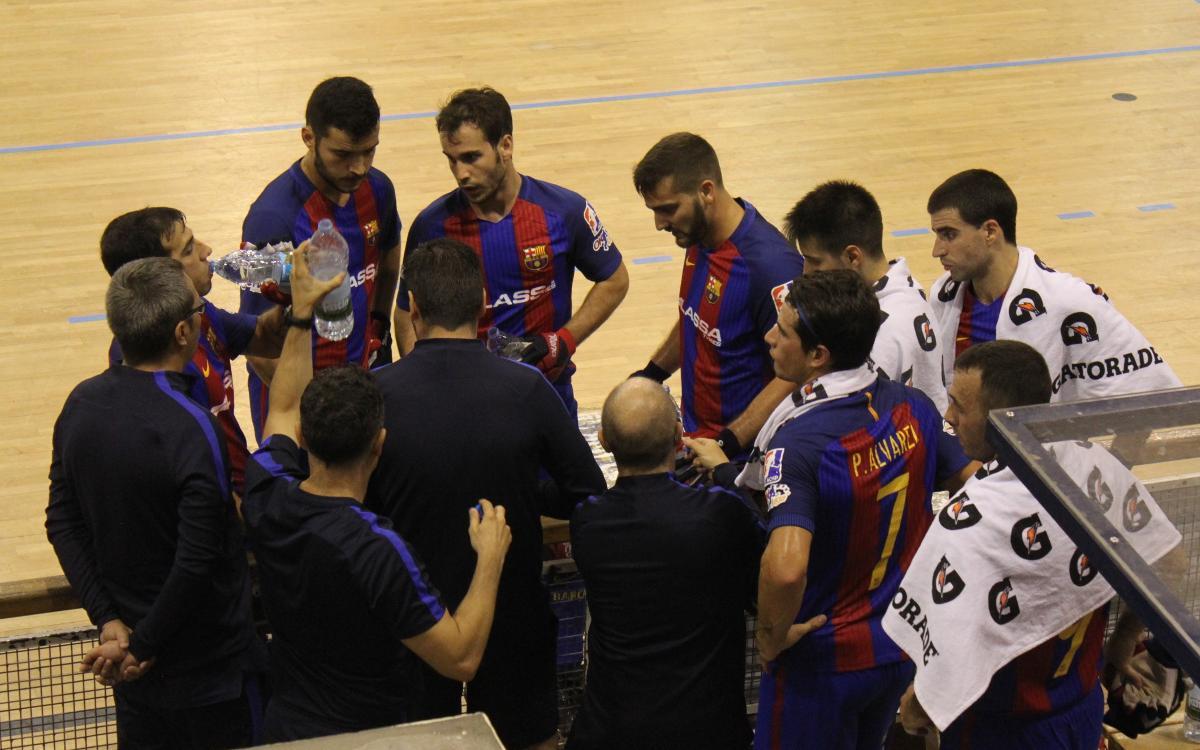 Infante de Sagres - FC Barcelona Lassa: Buen ritmo de juego y tercera victoria en Portugal (2-6)