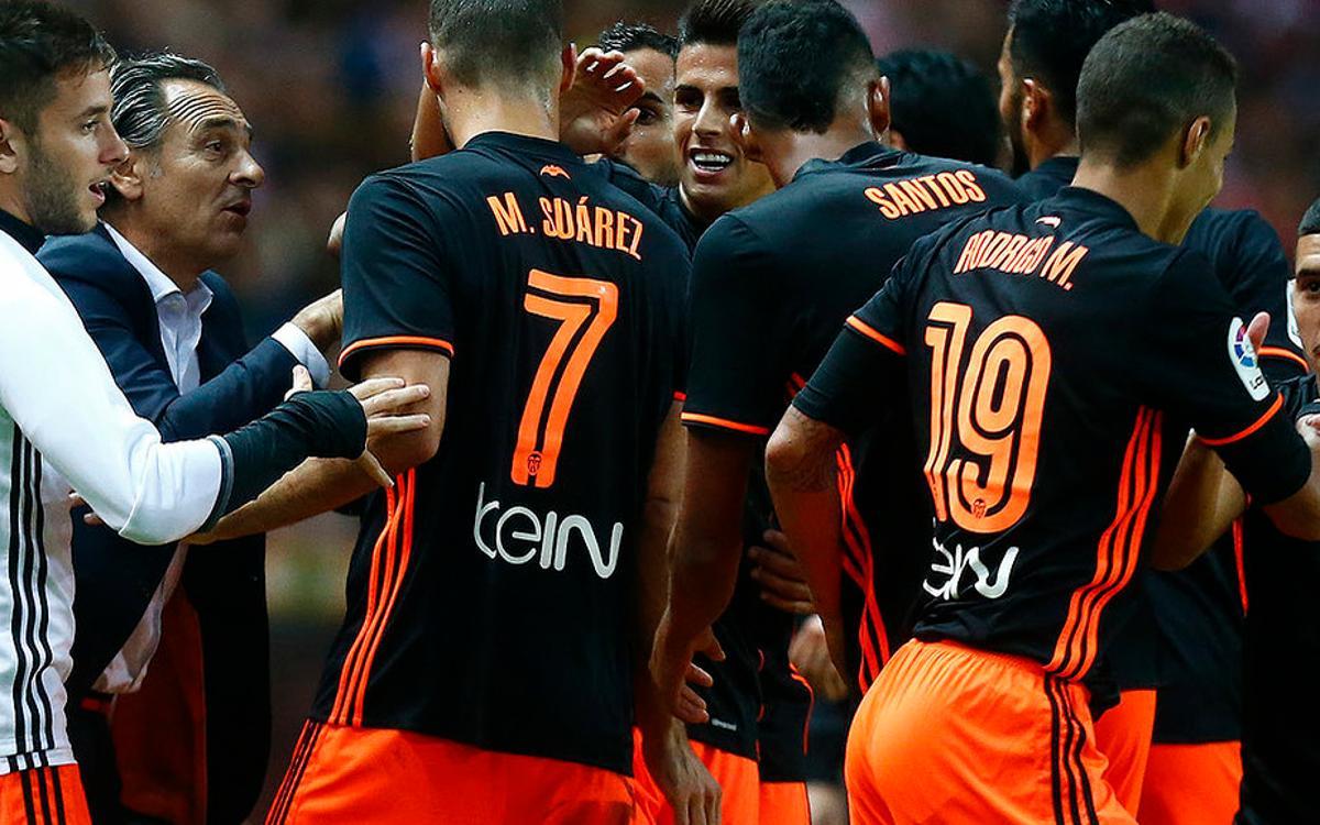 Rival watch: Valencia get off to winning start under Prandelli