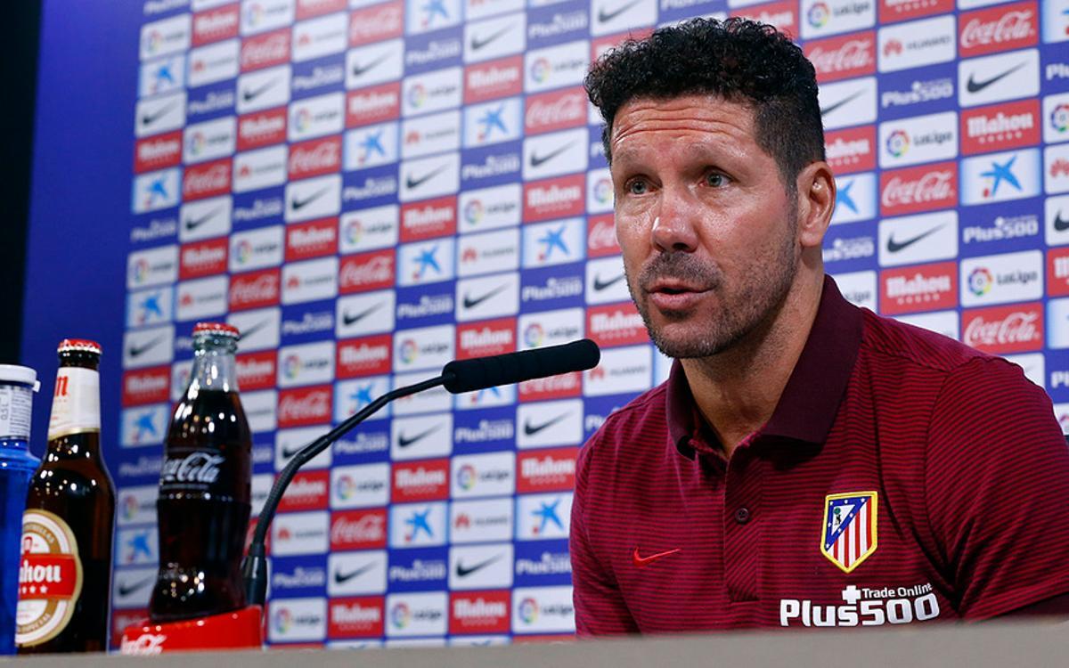 Atlético Madrid manager Diego Simeone hails 'brilliant' FC Barcelona