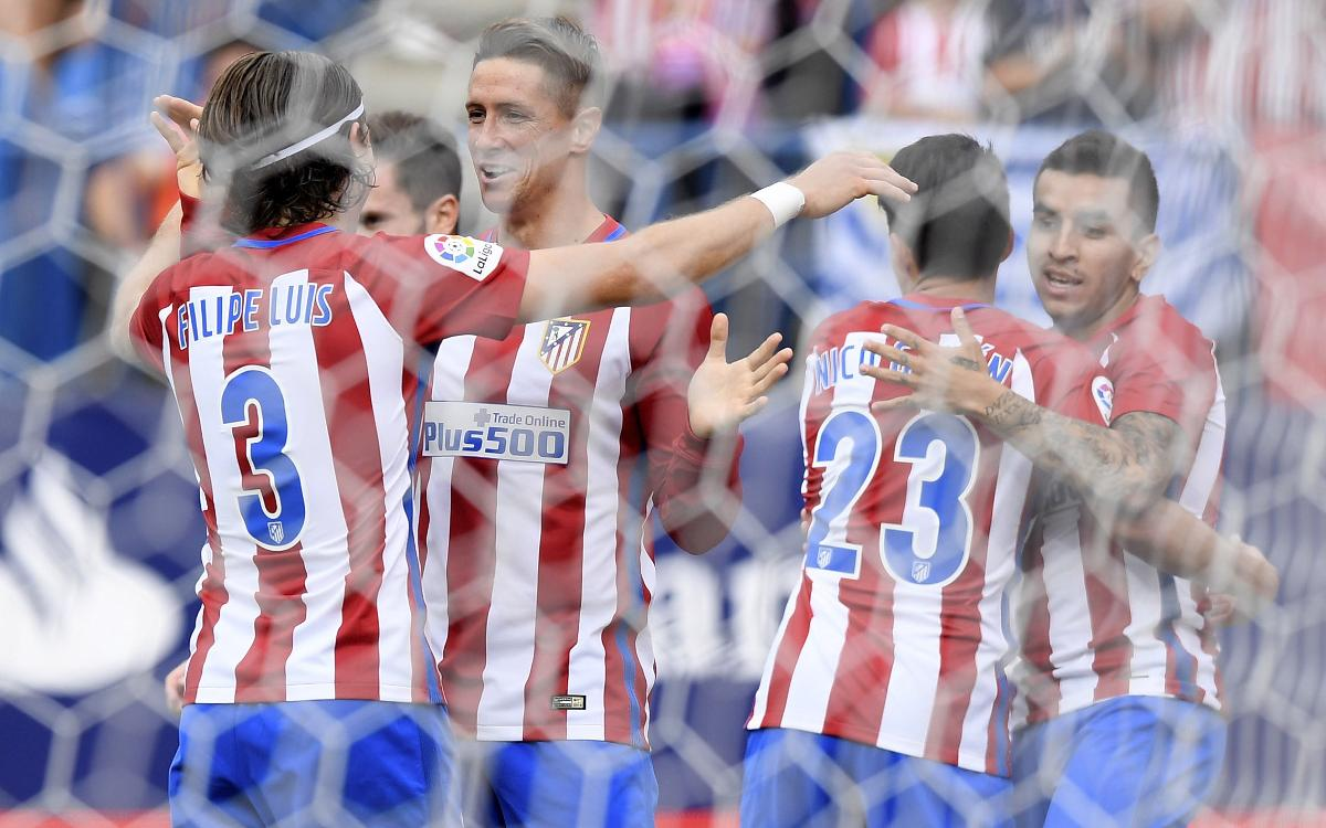 Atlético cruise to win ahead of Barça clash
