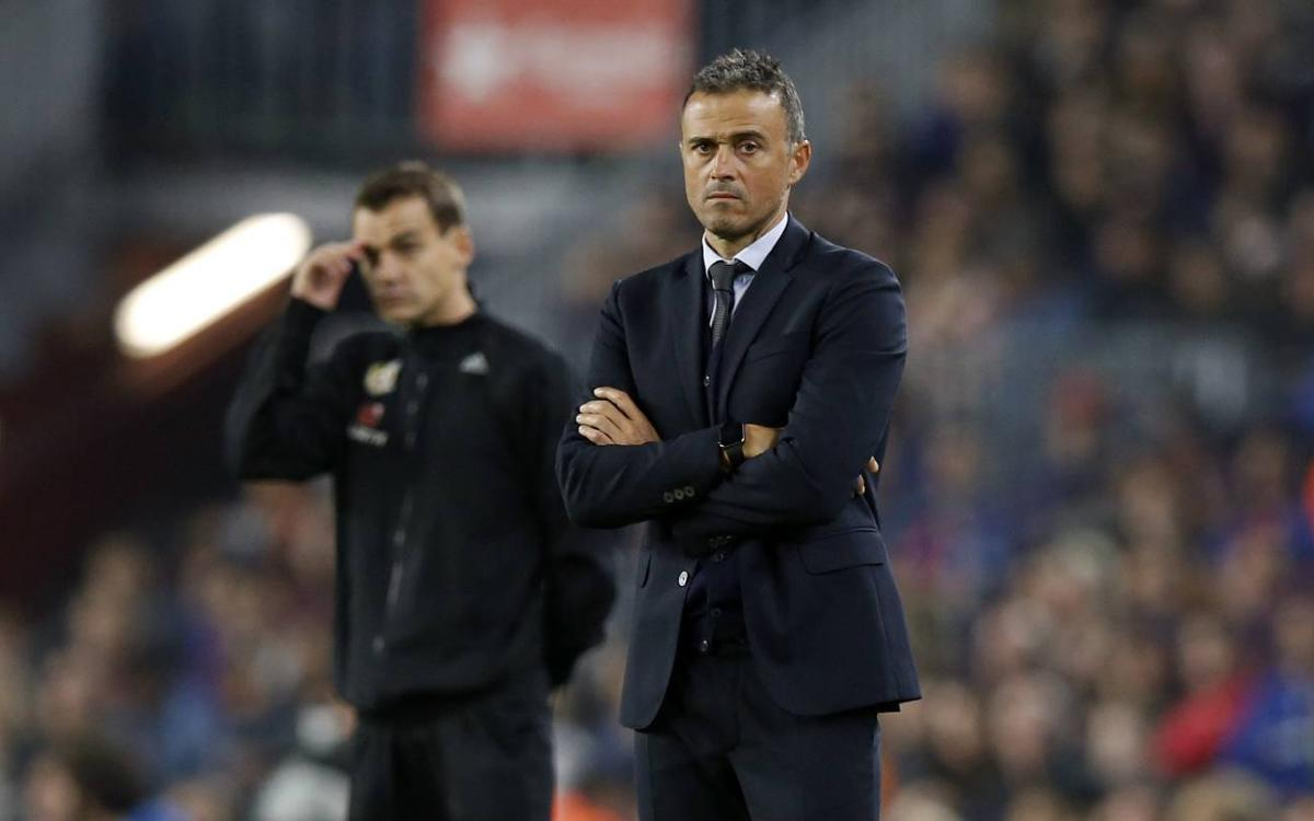Luis Enrique: I was pleased with the attitude of my players