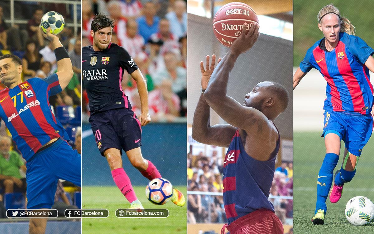 Majoria de partits a domicili en l'agenda esportiva del FC Barcelona
