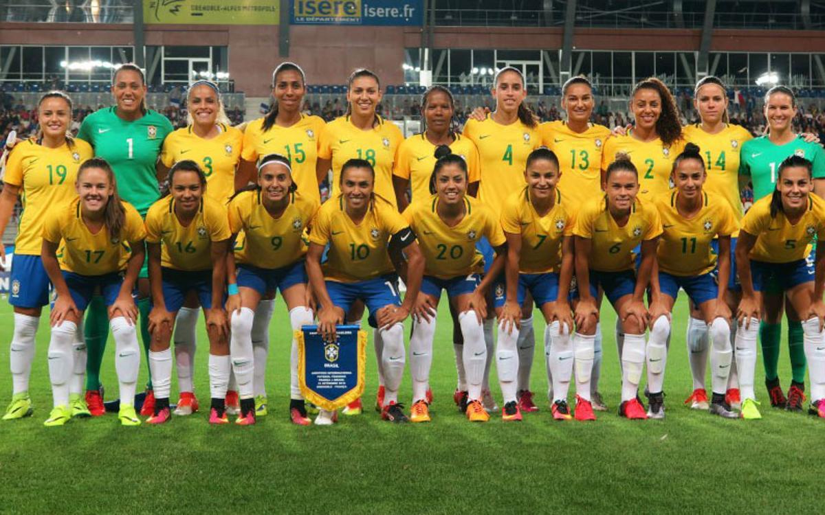 Brasil, con Andressa, empata en Francia (1-1)