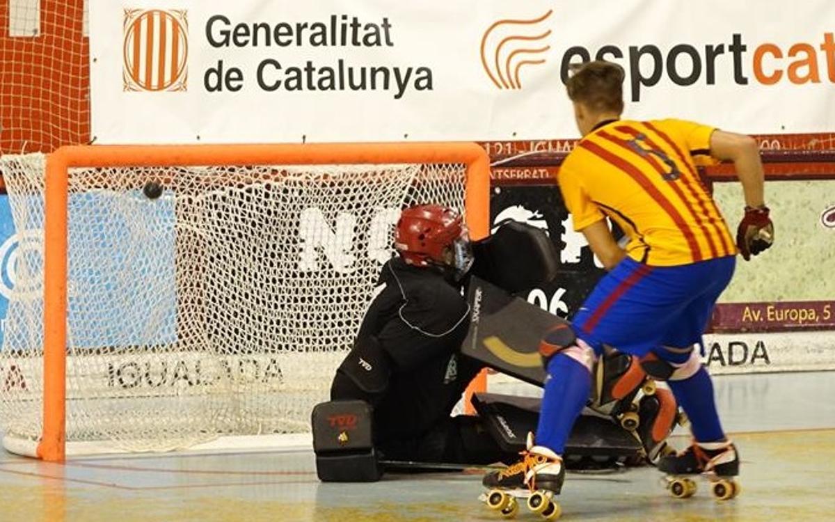 FC Barcelona Lassa B - Reus Deportiu La Fira: Los jóvenes plantan cara pero se quedan sin final (4-8)