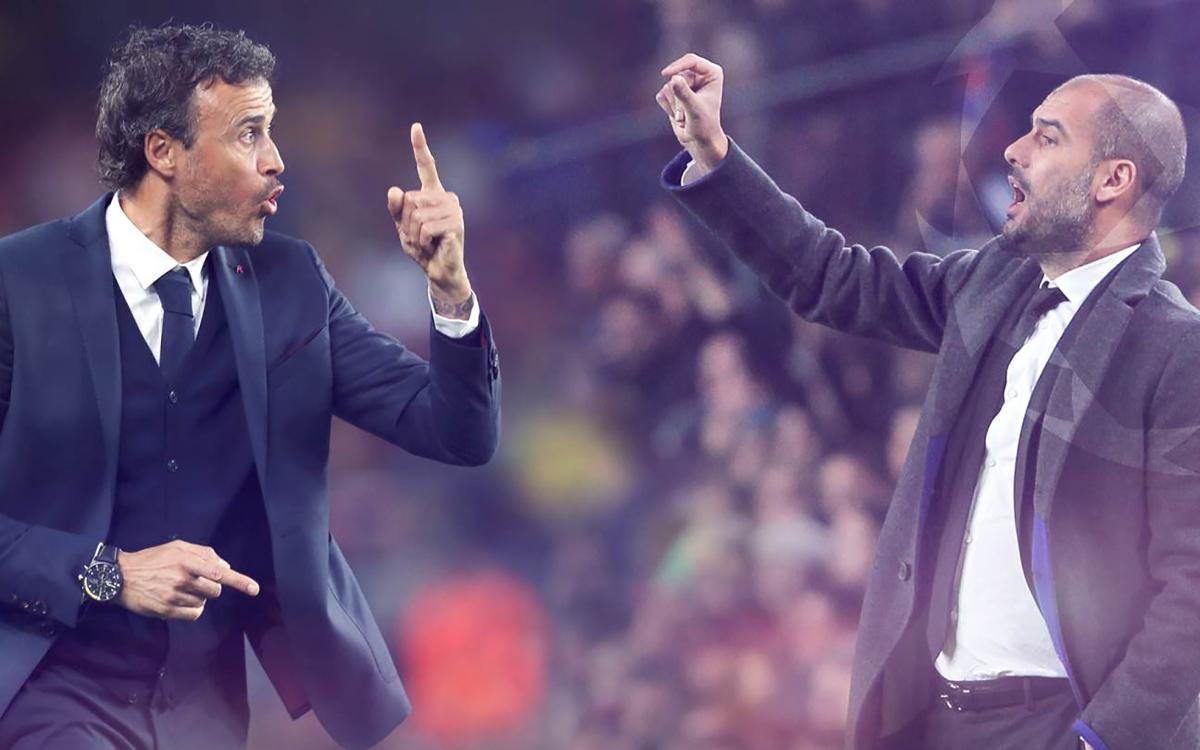 Pep Guardiola and Luis Enrique: a long-standing friendship