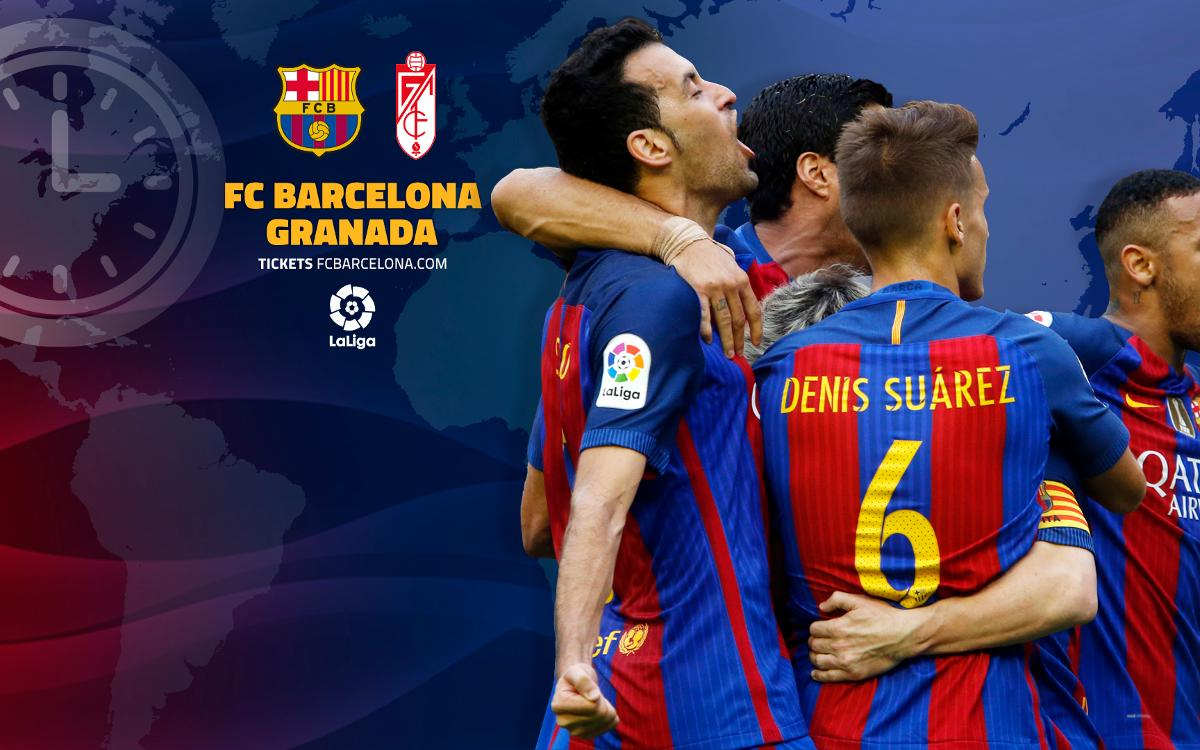 When and where to watch FC Barcelona v Granada CF