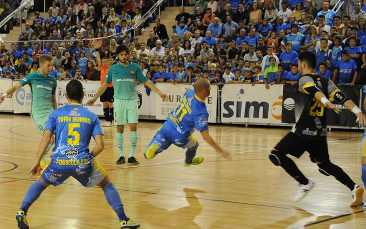 Peníscola v FC Barcelona Lassa: Narrow loss in opener (3-2)