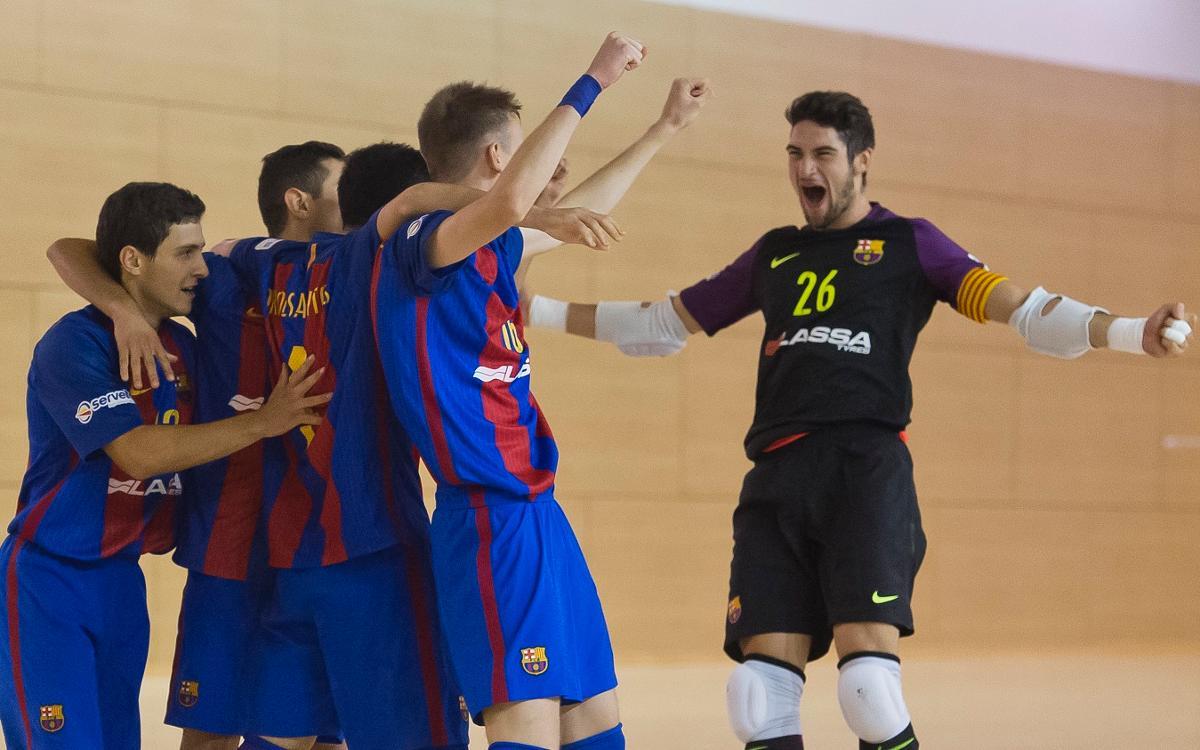 El Barça B debuta con buen pie en la liga
