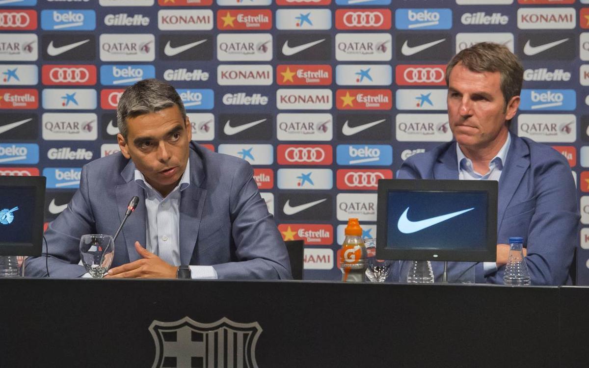 Els 22 moviments del primer equip del FC Barcelona