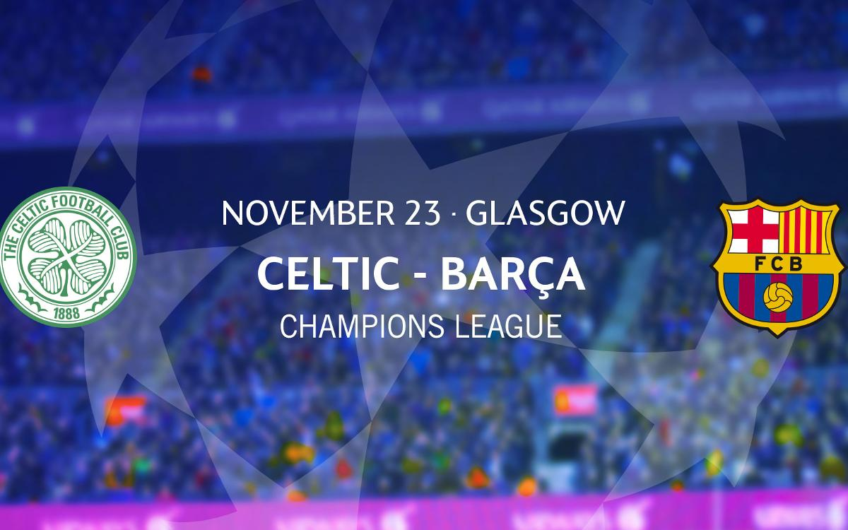 Ticket applications for FC Barcelona's game at Celtic Park