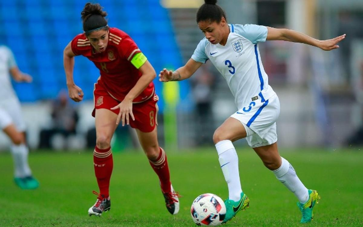 Derrota d'Espanya amb golàs de Marta Torrejón (1-2)