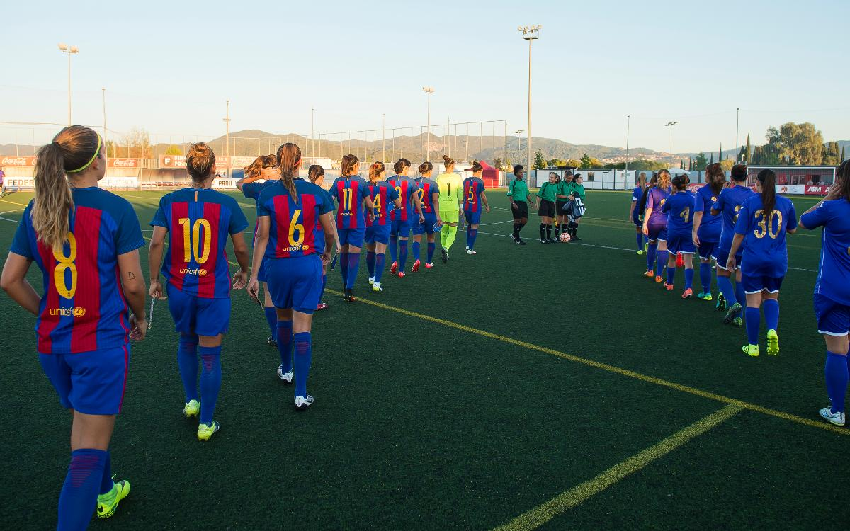 FC Barcelona Femenino - Santa Teresa: Quedamos en casa