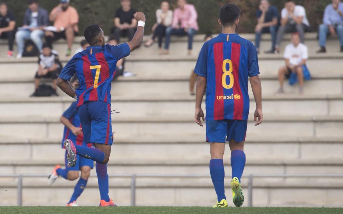 Juvenil A – San Francisco: El Barça reafirma el seu lideratge (1–0)