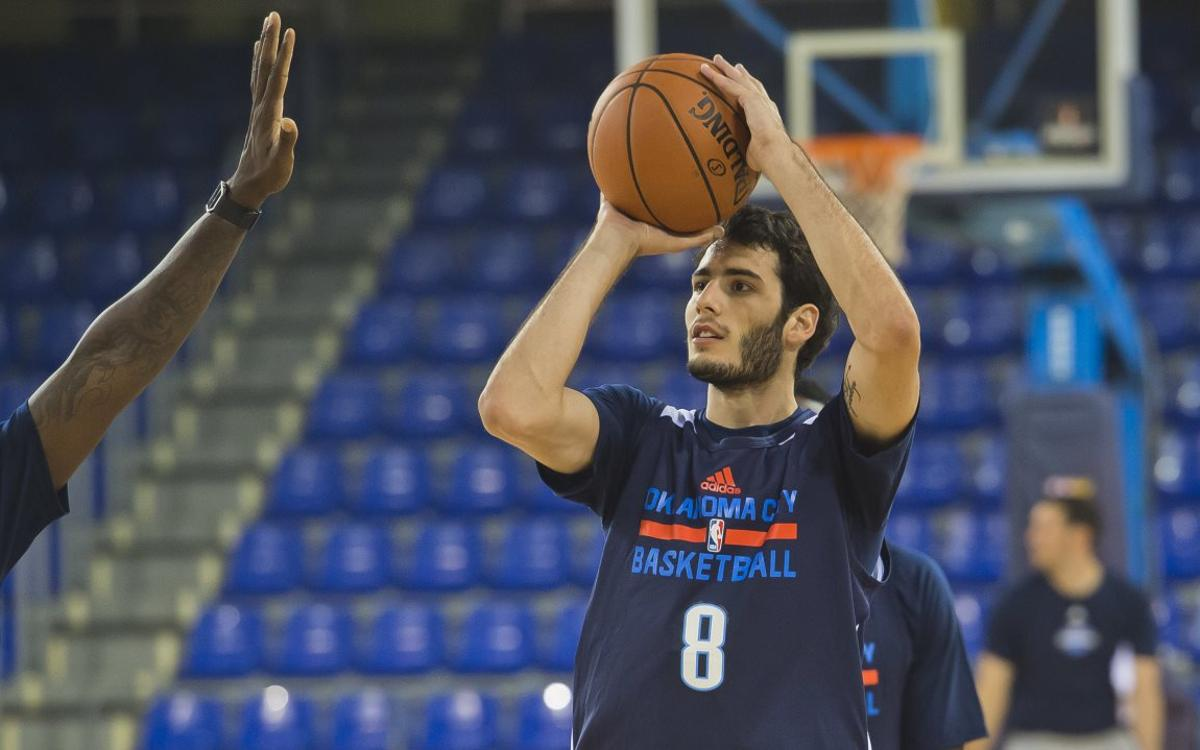 Álex Abrines returns to FC Barcelona, brings NBA, Thunder in tow