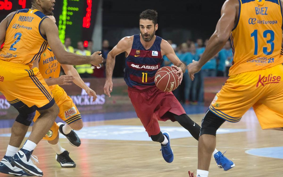 Herbalife Gran Canaria v FC Barcelona: Super Cup slips away (79-59)