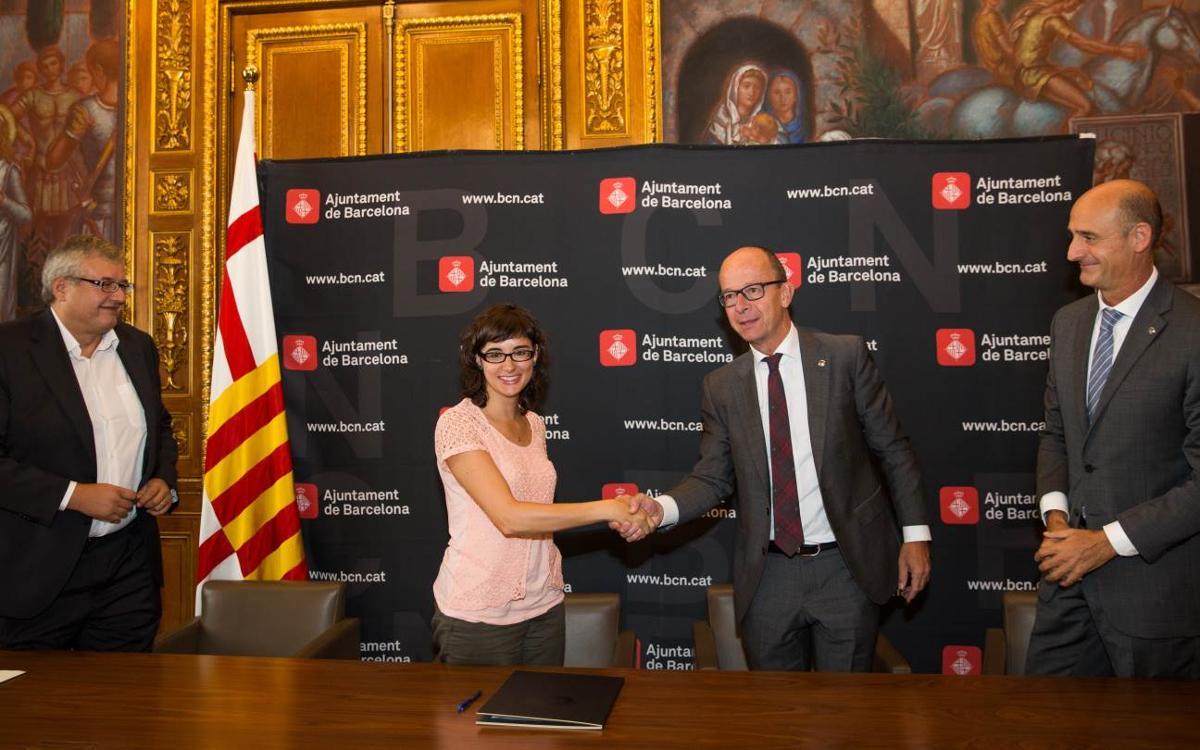 Acuerdo entre TMB y el FC Barcelona para prolongar el servicio de metro en días de partido más allá del horario habitual