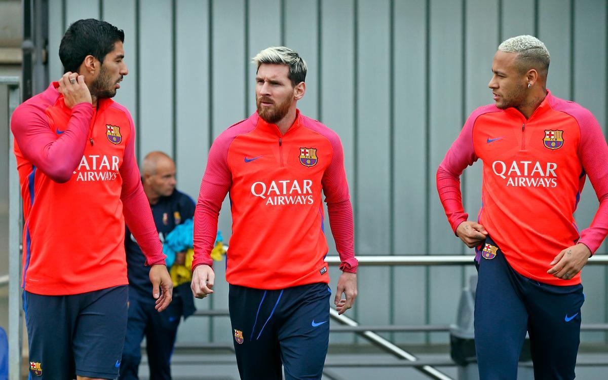 DIRECTE - Entrenament del FC Barcelona previ al FC Barcelona - Deportivo