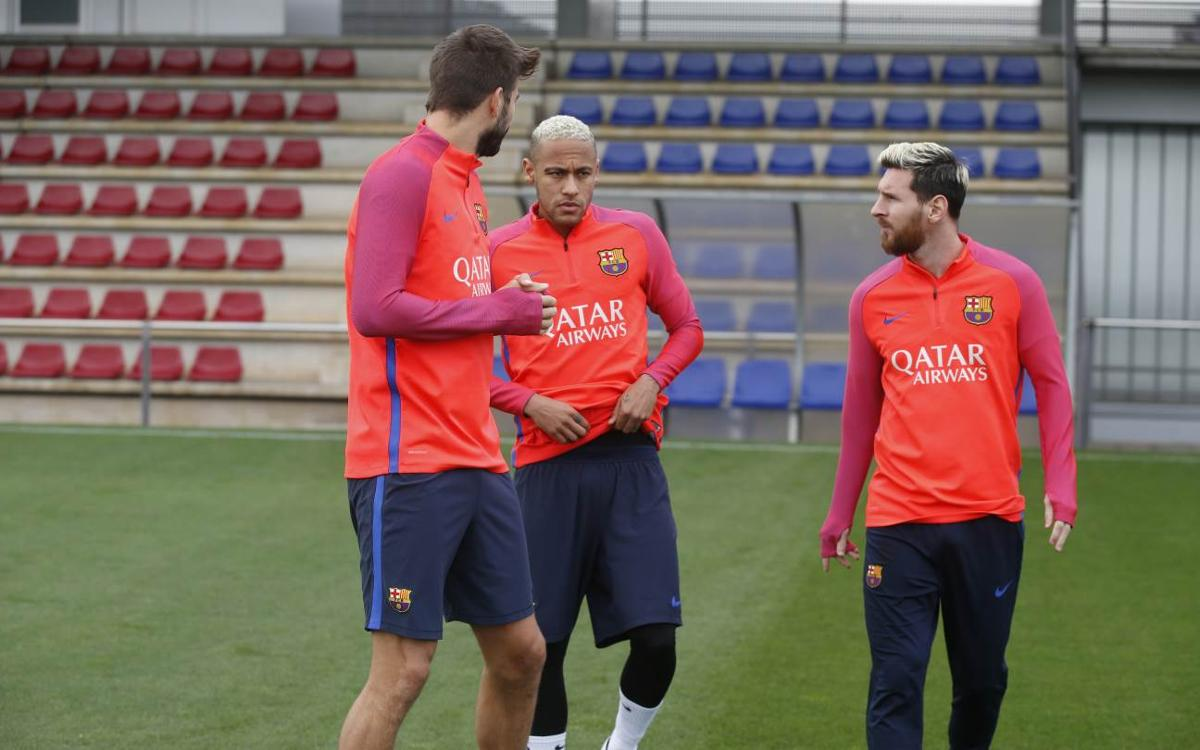 Messi, Umtiti and more internationals back for Wednesday training