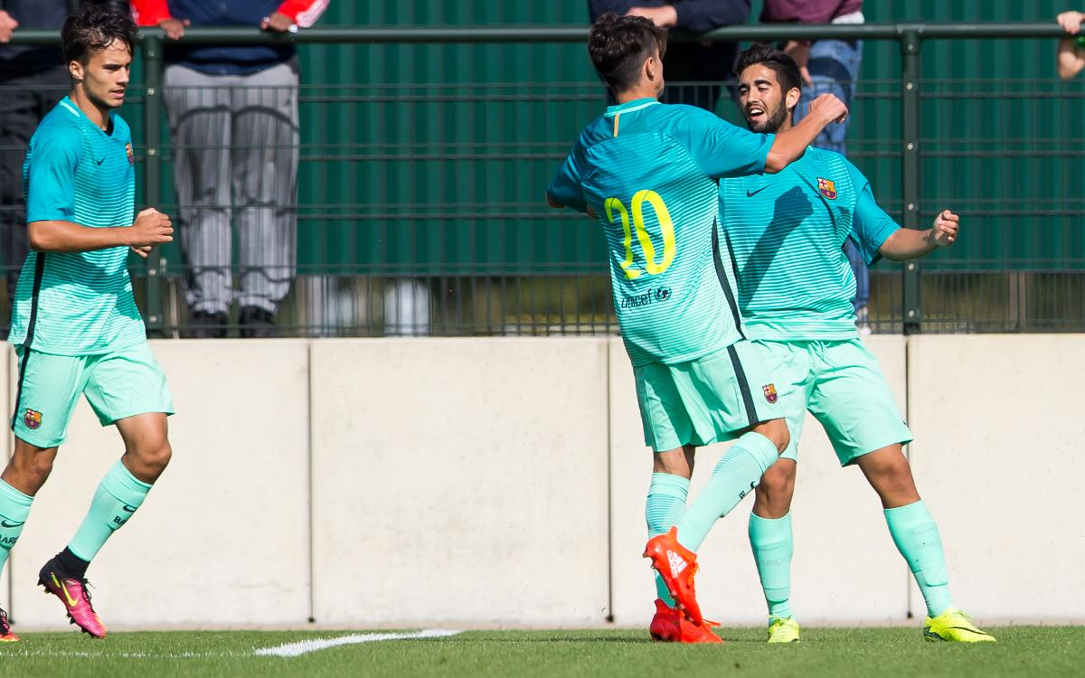 UEFA Youth League: Borussia Mönchengladbach 1-3 FC Barcelona