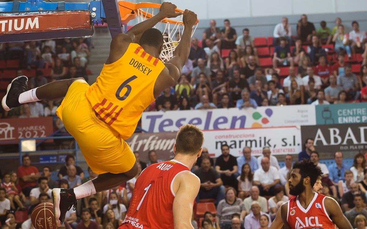 ICL Manresa v FC Barcelona Lassa (50-56): First league game ends in win