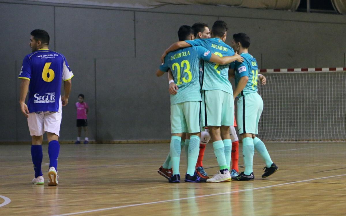 CCR Castelldefels – FC Barcelona Lassa: Classificats per als vuitens (2-3)